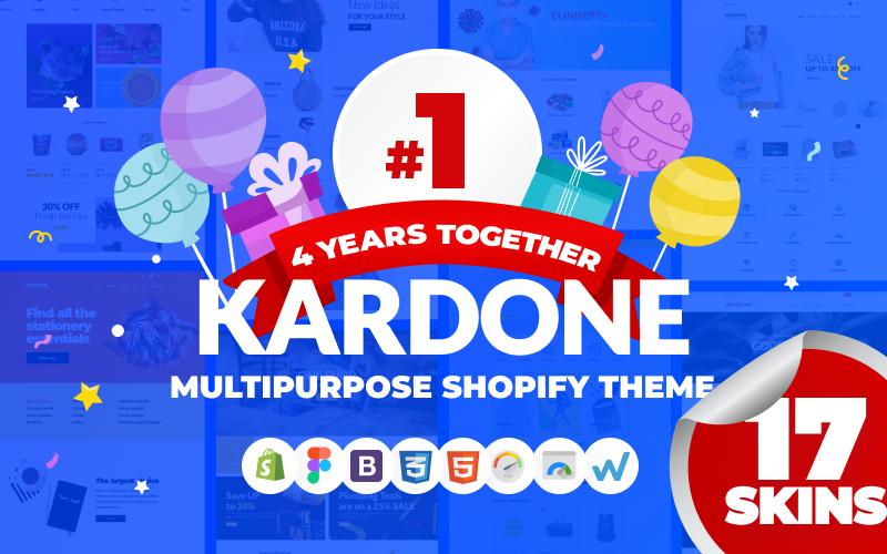 KarDone - багатоцільовий дизайн теми Shopify