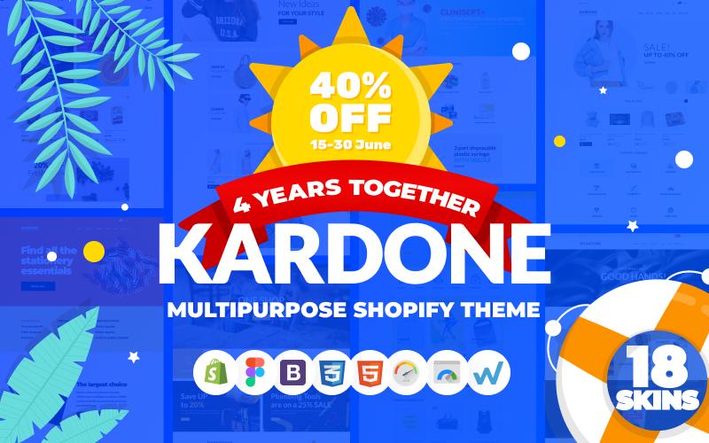 KarDone - Tema Shopify per design multiuso