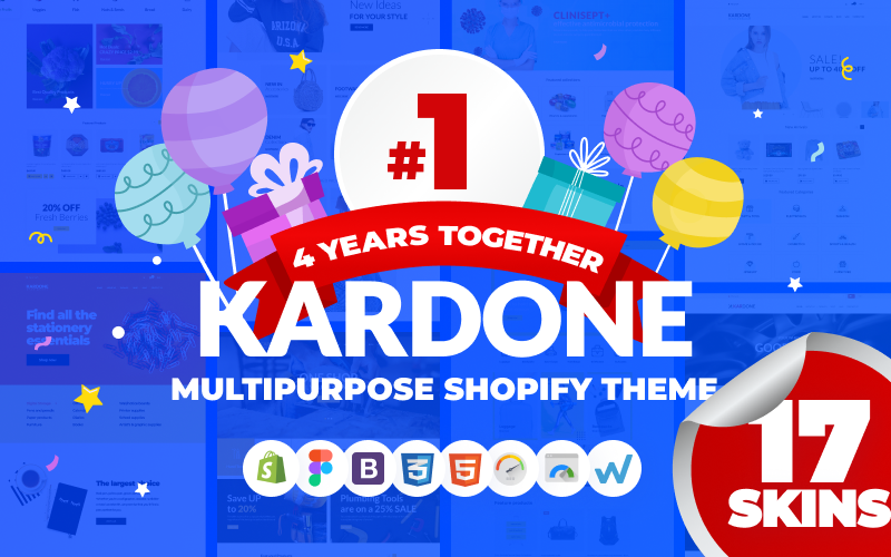 KarDone - Thème Shopify de conceptions polyvalentes