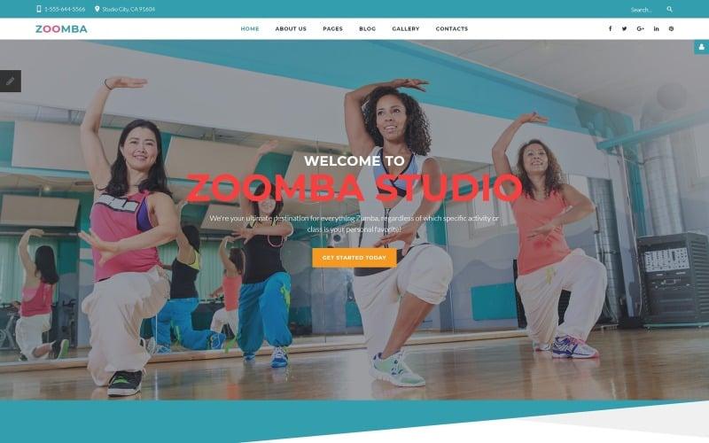 Dance Studio Responsive Joomla Template