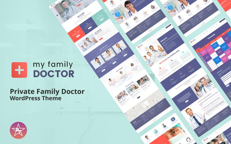 WordPress тема приватного сімейного лікаря