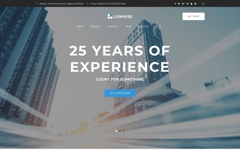 Architect Services Portfolio WordPress Theme