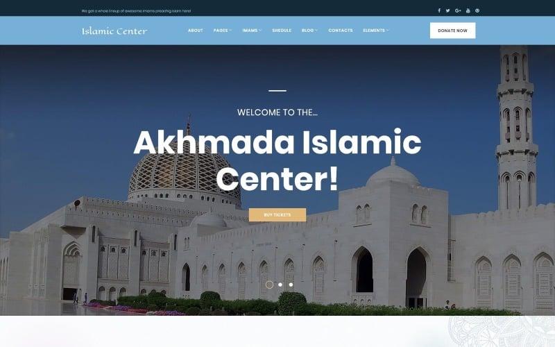 Akhmada - Islamic Center WordPress theme