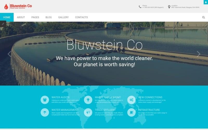 Bluwstein Co - Environmental Joomla Template