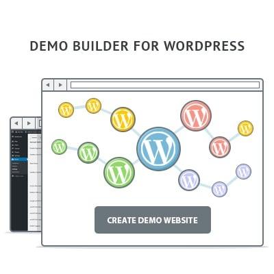 任何WordPress产品WordPress插件的演示生成器