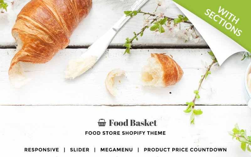 Food Basket - Food Store Shopify Theme
