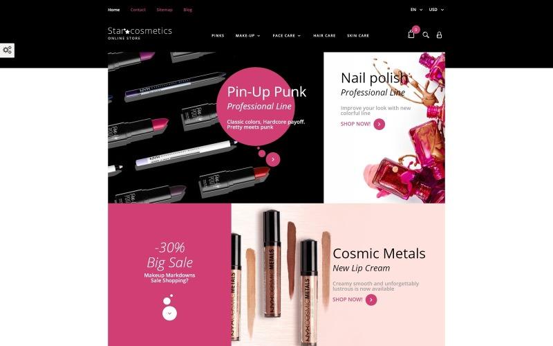 Star Cosmetics - Szépségápolási cikkek, érzékeny PrestaShop téma