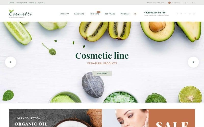 Cosmetti - Cosmetics Store PrestaShop Theme