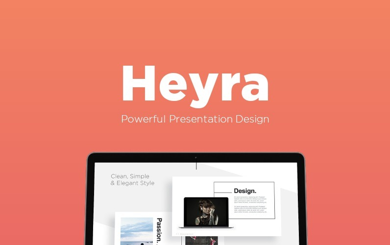 Szablon Heyra PowerPoint