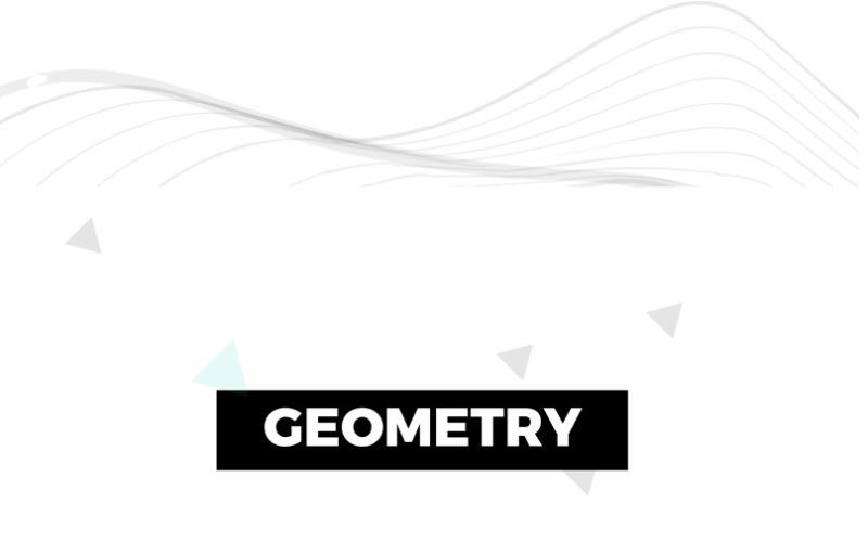 Szablon programu PowerPoint geometrii