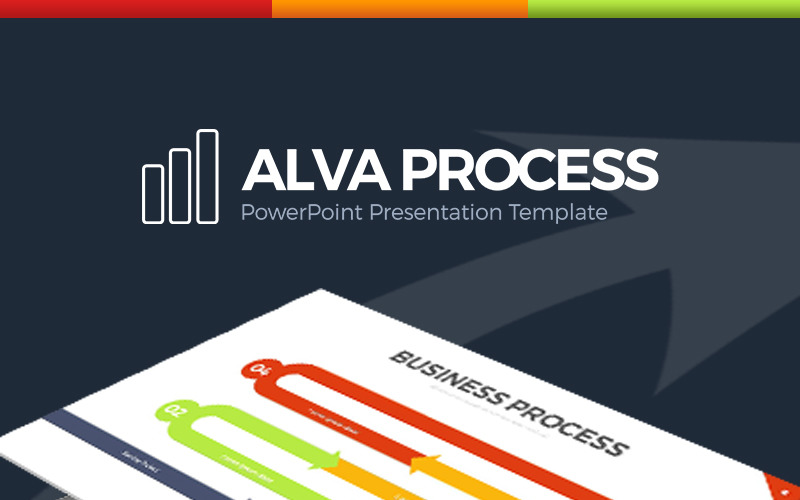 Alva Process Szablon PowerPoint