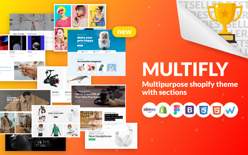 Multifly-多功能在线商店Shopify主题