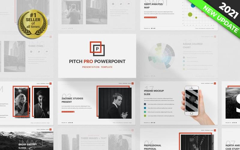 PowerPoint šablona Pitch Pro