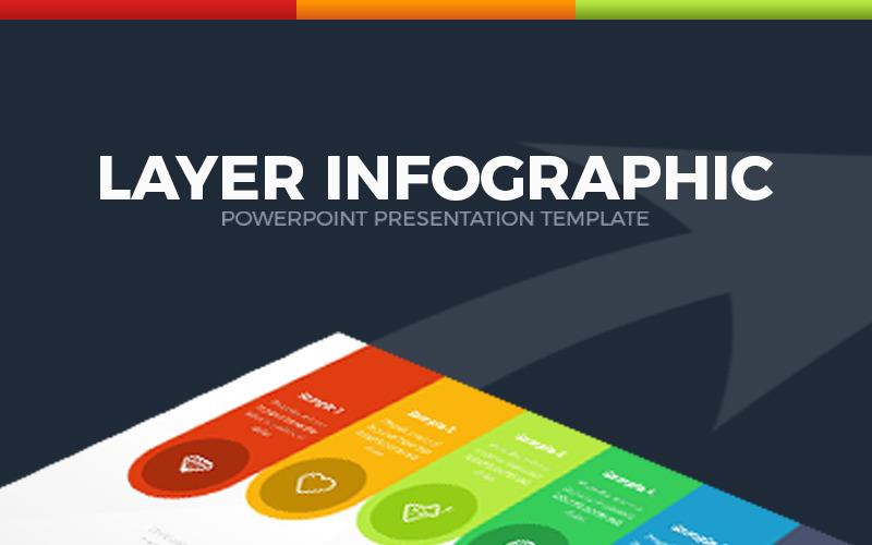 Szablon warstwy Infografika PowerPoint