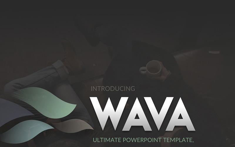 Wava PowerPoint-Vorlage