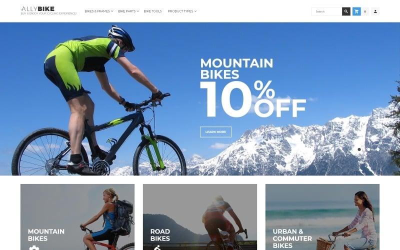 AllyBike - Cycling Supplies Store Responsive Magento Theme