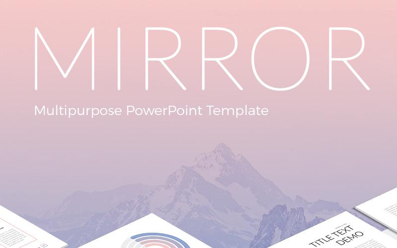 Lustro szablon PowerPoint