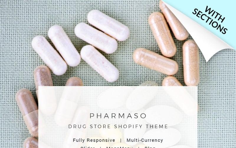 Pharmaso - Drug Store Shopify Theme