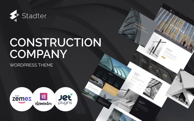 Stadter - Construction Company WordPress Theme
