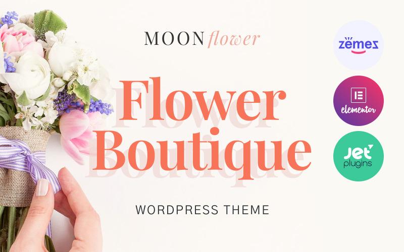 Moon Flower - Thème WordPress Flower Shop