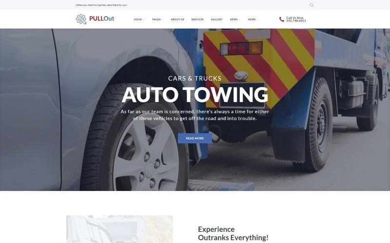 Pull Out WordPress Theme