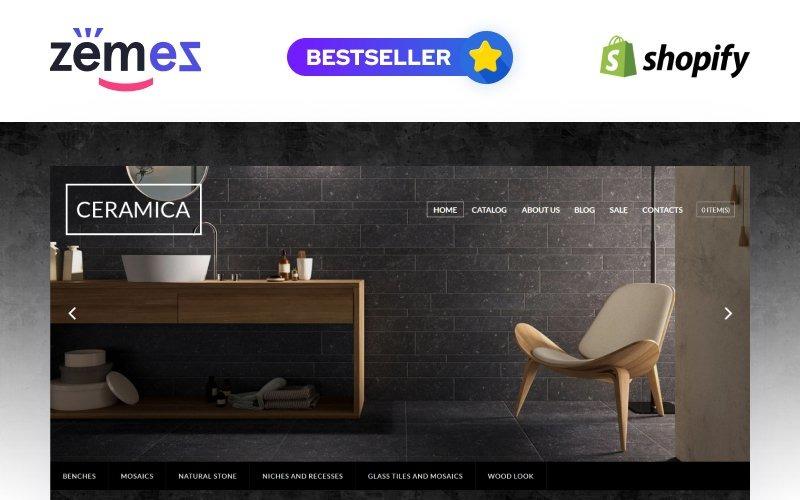 Çini Taşı Duyarlı Shopify Teması