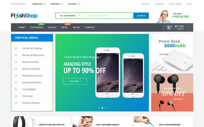 Flashshop - Multipurpose Premium WooCommerce Theme