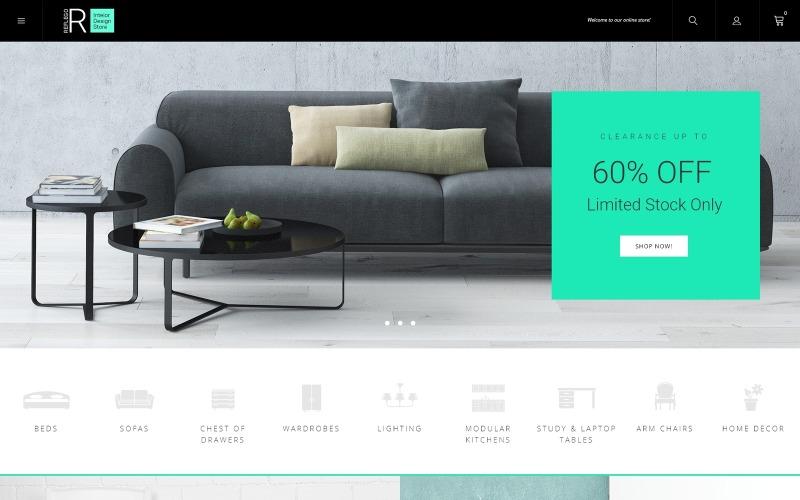 Reflego - Tema Magento para muebles y decoración del hogar