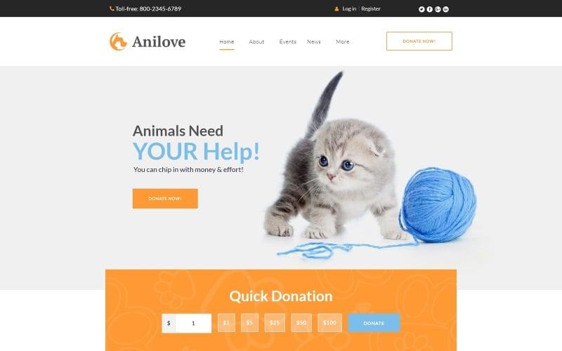 Tema WordPress Anilove