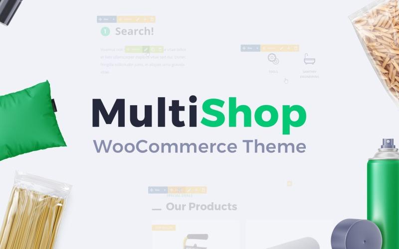Multishop - Tema adaptable de WooCommerce