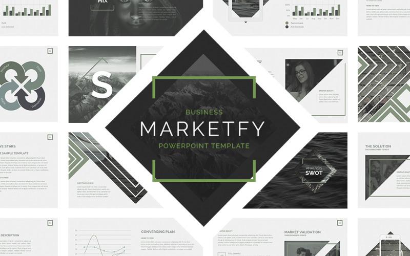 Marketfy PowerPoint Template