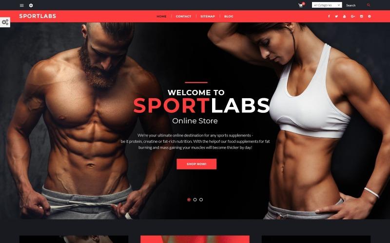 Sports Nutrition PrestaShop Theme
