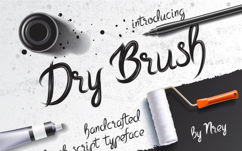 Dry Brush Font