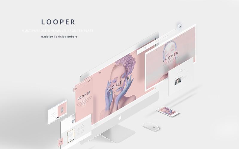 Looper - Multipurpose One/Multi Page Website Template