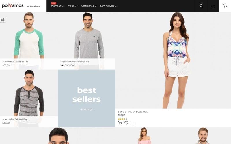 Polasmos - Fashion Store Magento Theme