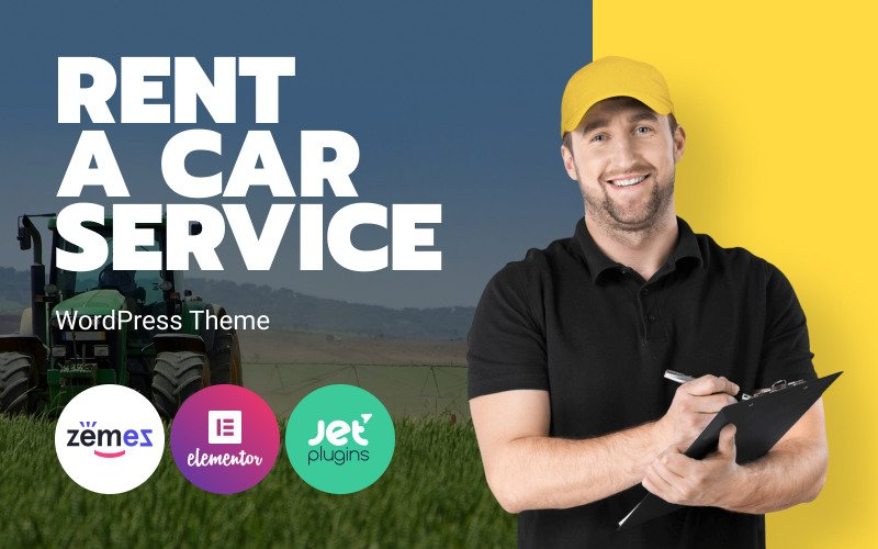Rentallo - Farming Equipment & Machinery Rentals WordPress Theme