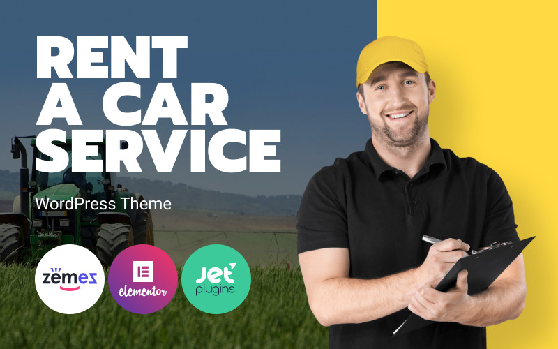 Rentallo - Tema WordPress per il noleggio di macchinari e attrezzature agricole