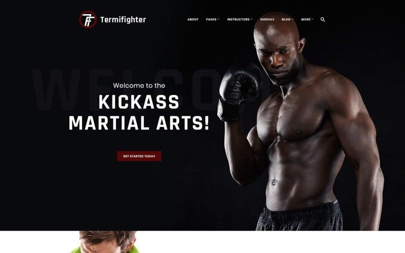 Termifighter - Martial Arts Club Responsive WordPress Theme
