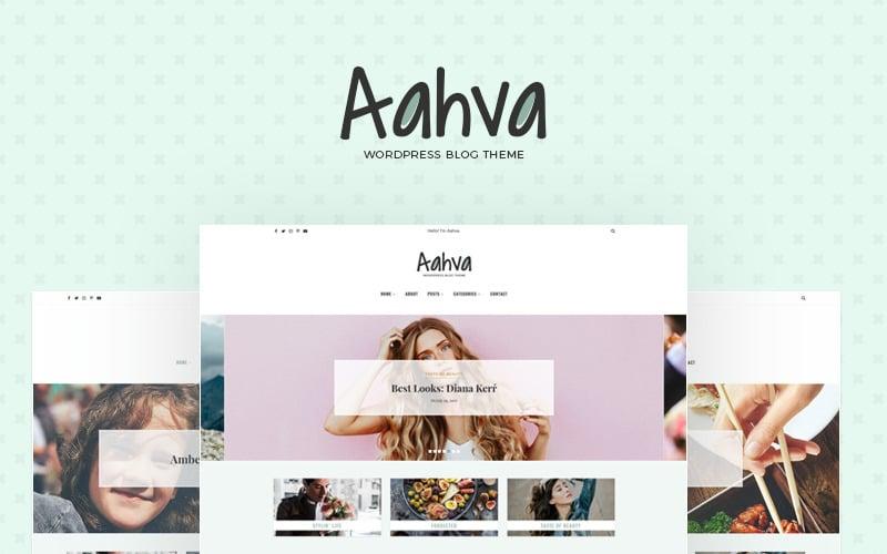 Aahva WordPress Blog Theme WordPress Theme