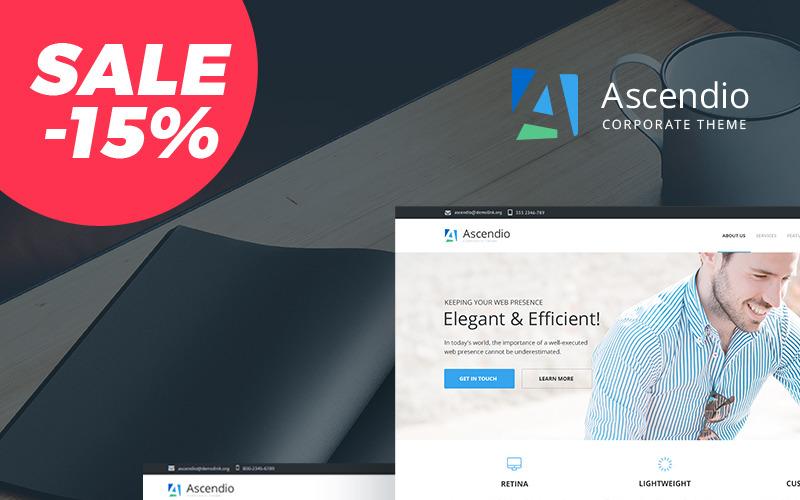 Ascendio - шаблон Drupal для бизнеса и бизнеса