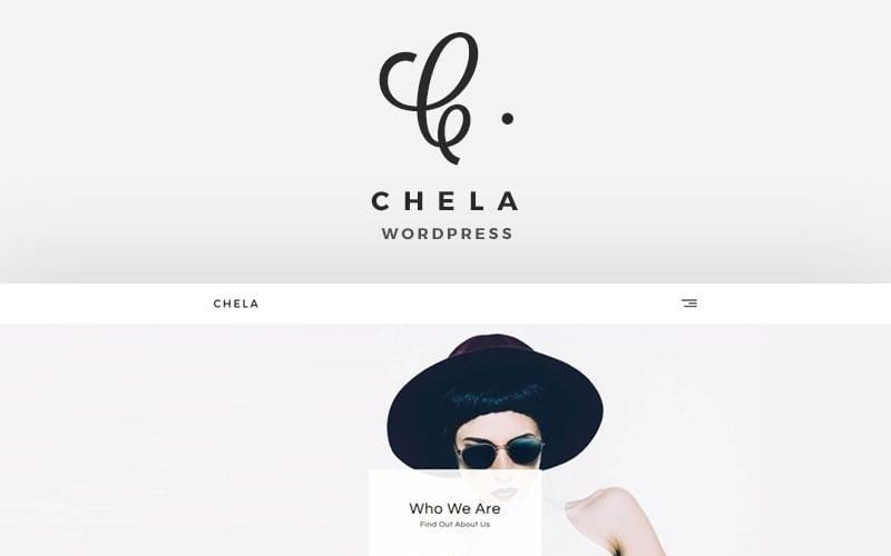 Chela - Un thème WordPress pour agence minimale