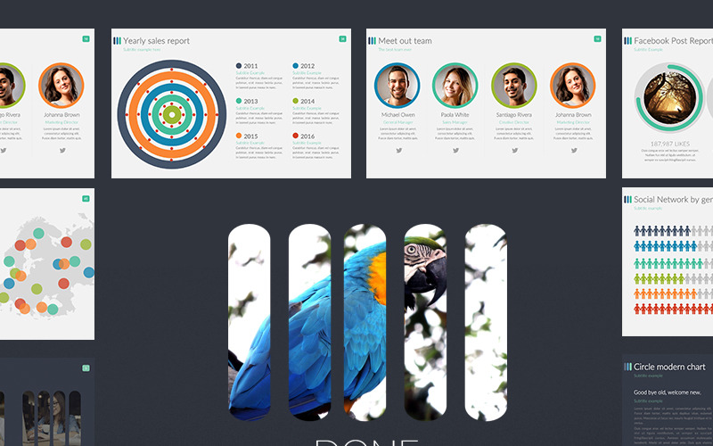 Design & Photography PowerPoint template