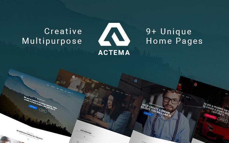 Actema - Thème WordPress polyvalent Creative Business