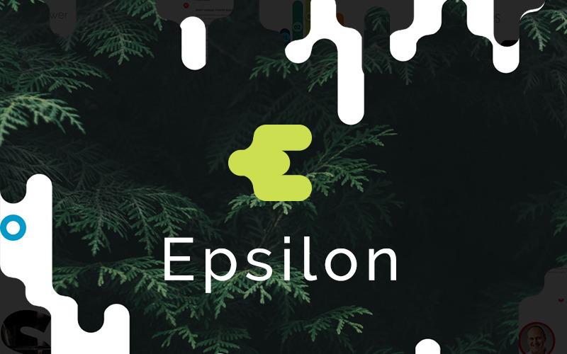 Epsilon Powerpoint Presentation PowerPoint Template