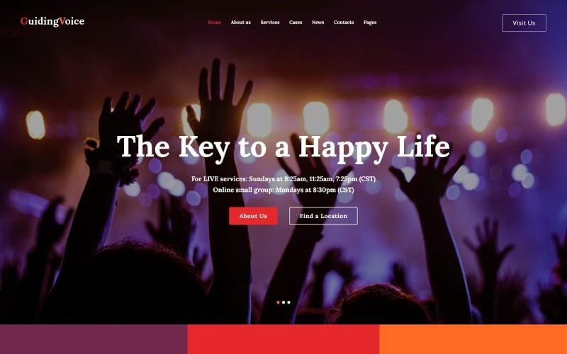 Guiding Voice - Life Coach WordPress theme