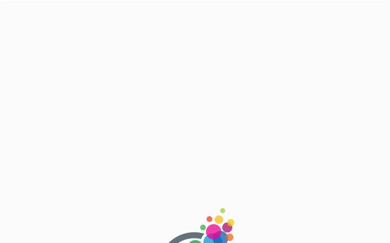 Plantilla de logotipo de idea innovadora