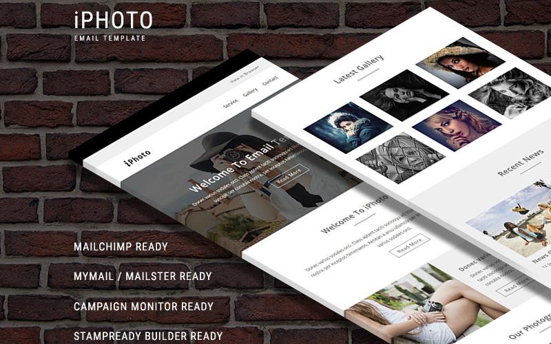 iPhoto - responsywny szablon wiadomości e-mail szablon biuletynu