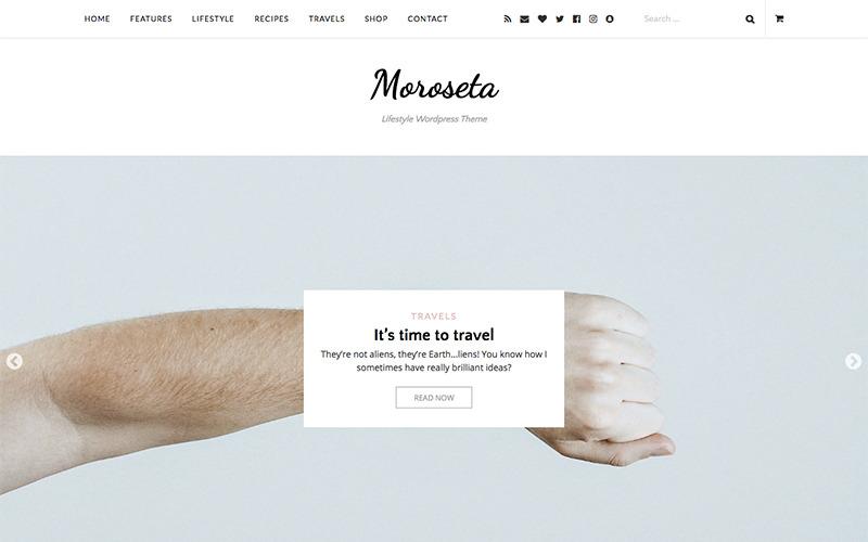 Тема WordPress Moroseta
