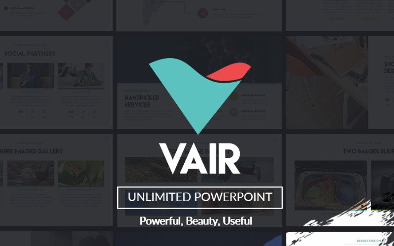 Vair Powerpoint Presentation PowerPoint Template