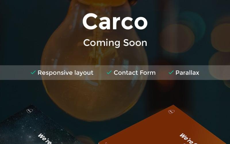 Carco - Yakında HTML5 Özel Sayfası